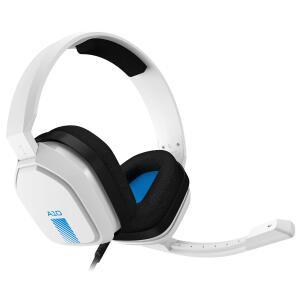 ねじっても壊れないゲーミングヘッドセット「ASTRO A10」に新色「ホワイト/ブルー」を追加