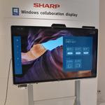 業界初、マイクロソフト「Windows collaboration display」認証の4Kタッチディスプレーをシャープが発売