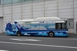 羽田空港の自動運転バスの実証実験をANAが実施