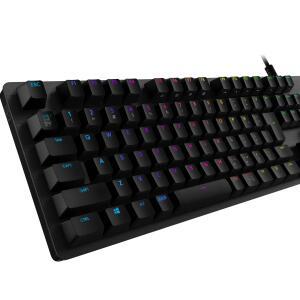 ロジクールG、有線ゲーミングキーボード「G512」の「リニア」「タクタイル」のスイッチをリニューアル