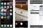iPhoneでは追加アプリなしでQRコードを読み取れる