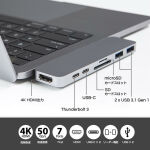 MacBook Pro専用!「7in2 デュオ USB-C ハブ」