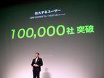 導入企業10万社を突破したLINE WORKSが提案する新しいつながり方
