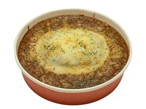 セブン「肉汁じゅわ!」大盛ハンバーグカレードリア
