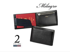 エグゼクティブな紳士に似合うMILAGROの2つ折り財布が40%オフ!