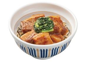 なか卯「豚角煮丼」お肉とろっとろ