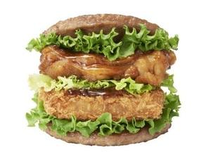 モス、肉で肉を挟んだニクの日バーガー!25日から
