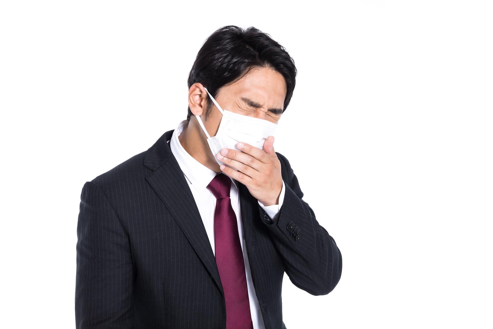 「咳をしてる人」の画像検索結果