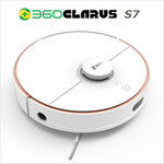 水拭き機能も搭載するオールインワンロボット掃除機「360CLARUS S7」