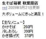 【アキバ食い倒れ部】生そば箱根 秋葉原店