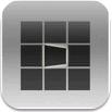 ジャケ写がパタパタ回転するiPhoneアプリに惚れた!