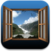 雄大な景色と効果音で癒されるiPadアプリに惚れた!