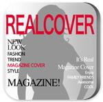 【iPhoneアプリ】『RealCover』を使って、雑誌の表紙はどんな写真でもカッコイイのか実験してみた
