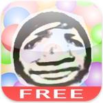 【iPhone/Androidアプリ】顔面をぷく~りふくらませて遊ぶカメラ『BubbleFace』