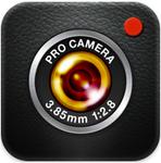 【iPhoneアプリ】欲しい機能を詰め込んだ本格カメラ『プロカメラ』