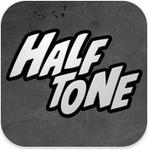 【iPhoneアプリ】写真をアメコミ化して遊べるアプリ『Halftone』