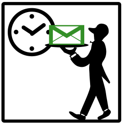 指定した時間にメールが送れるandroidアプリがイカス 週刊アスキー