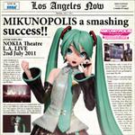 初音ミク、初の海外公演『MIKUNOPOLIS』のライブCD発売! DVD、Blu-rayの先着購入特典も公開