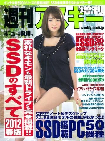 週刊アスキー増刊『SSDのすべて 2012春版』(2月23日発売)