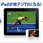 新型iPadで地デジが観られる無線LANルーター『Wi-Fi TV』は4月中旬に発売!