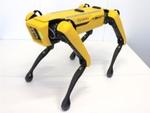 鹿島建設、土木工事現場に適用した四足歩行ロボットを導入