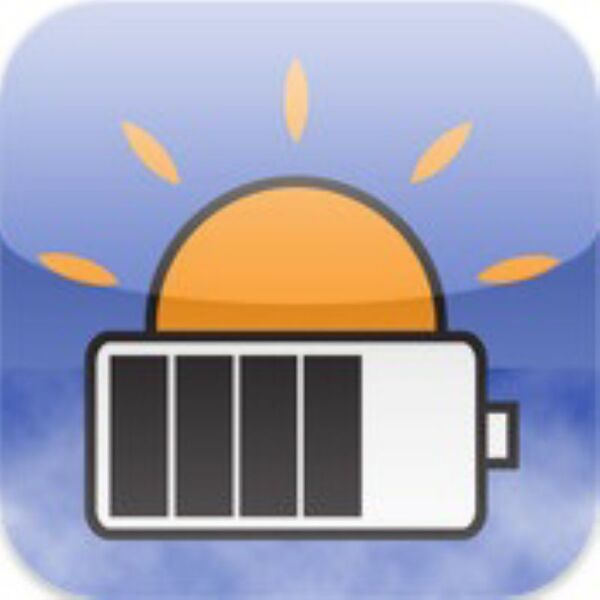 いつバッテリーが切れるかわかるiPhoneアプリに惚れた!