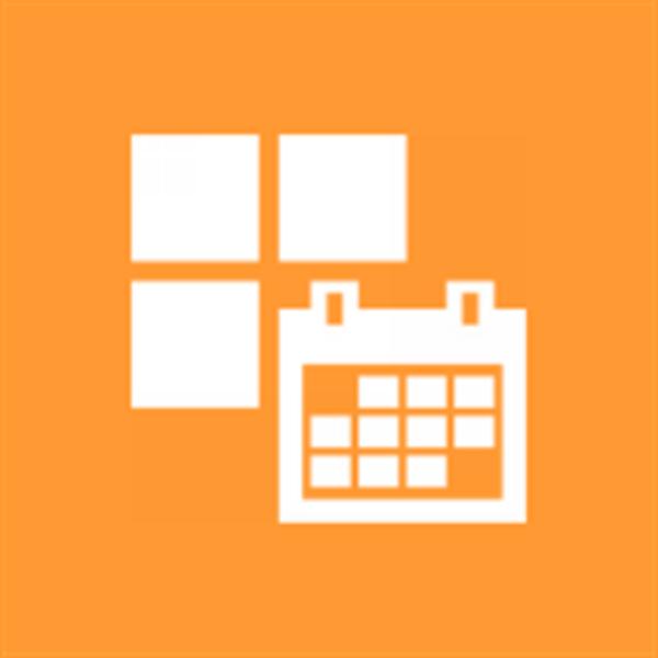 カレンダー表示が見やすいWP7アプリが無敵!!