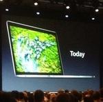 15インチ2880×1800ドットの新MacBook Pro発表 18万4800円から