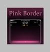 ピンクを使ったシンプルなテーマに変えられるBBアプリが素敵!