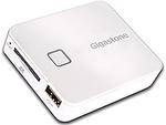 iPhoneと一緒に持ち歩く、auがWiFi接続SDカードリーダー/ライター発売