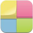 フセンをホーム画面に貼れるiPhoneアプリ、アイコンメモ