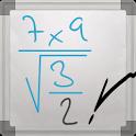 手書きの数式を計算できるAndroidアプリ、MyScript Calculator