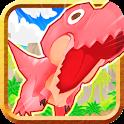 弱肉強食の2D恐竜エンドレスランスマホゲーム、ティラノラン