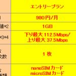 高速LTEが月額980円!BIGLOBEのSIMプランが強化