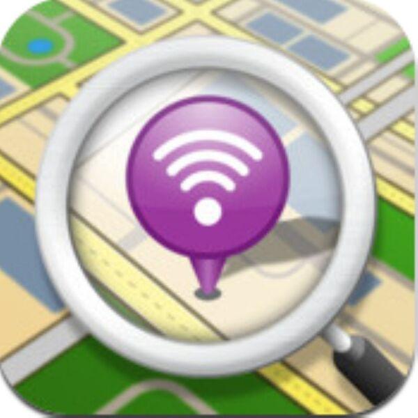 周辺にあるソフトバンクWiFiスポットを手早くチェックできるiPhoneアプリ、Wi-Fiチェッカー