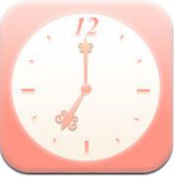 朝起きて天気と気温もチェックできるiPhoneアプリ、朝のうっかり遅刻解消目覚まし あさとけい