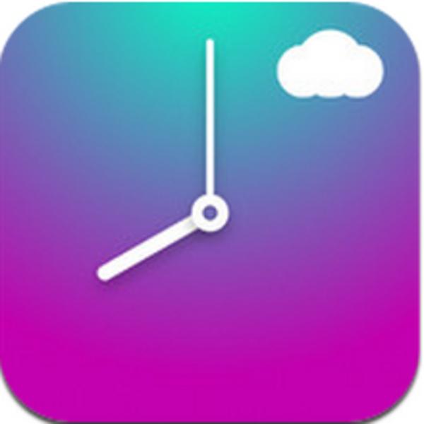 何時からどんな天気か一目瞭然な美しいiPhoneアプリに惚れた!
