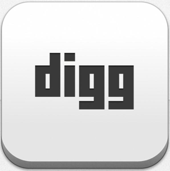 iPad/iPhoneアプリ Digg