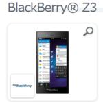 フルタッチパネルの『BlackBerry Z3』をEXPANSYSが販売開始