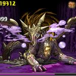 パズドラ:3色限定ダンジョン『闇の歴龍地獄級』に挑むメンバー
