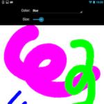ブラウザーでも動くAndroidScriptでお絵描きアプリを作成|Mac