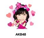 LINEにAKB48の実写スタンプ登場 まゆゆ、さしこ、ぱるる……個性的!