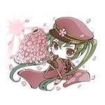 初音ミク『千本桜』バージョンのLINEスタンプがついに登場