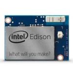 """SDカード並みに小さいAtom&WiFi搭載極小マシン""""Edison""""登場:IDF2014"""