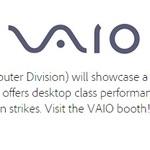 Core Mなのか?VAIO新タブレットの試作機がAdobe MAXにて展示予定