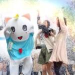 """白猫プロジェクト:ふなっしー起用のCMがまたまた登場""""大ヒット編""""12/10より放映開始"""