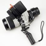 ソニーQX1をガンスタイルで使う斬新なモテ撮り方法