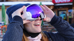 楽しげ! GoogleGlass風のスノボゴーグル「RideOn」が資金募集中 ナビ機能でバックカントリー遭難も防げそう