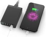 スマホやタブレットを6台同時に急速充電可能!低価格が魅力のANKER最新USB急速充電器