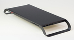 USB3.0ハブを搭載した大人気モニタースタンドに待望の新色ブラックが登場!